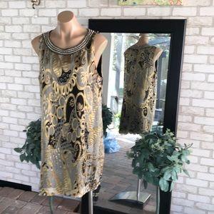 Vintage ECI silk dress
